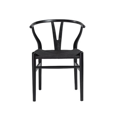 Jacinta Dining Chair Frame Color: Black