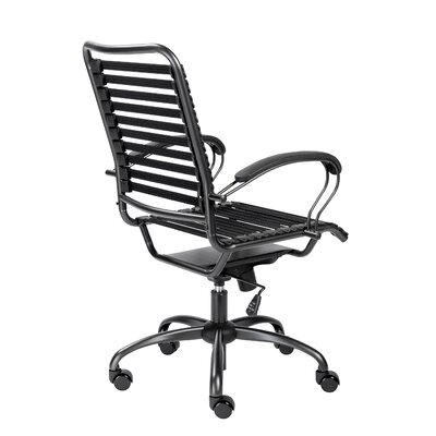 Amico Flat J-Arm High Back Ergonomic Bungee Office Chair 806EFC37B4144203AB8B6181D5FF85A6