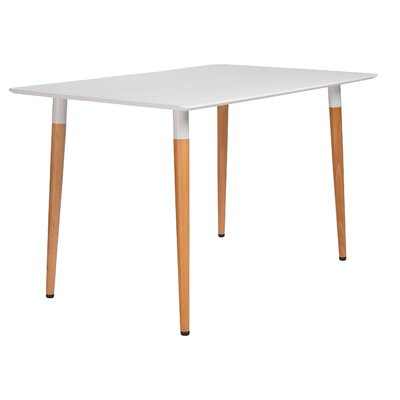 Silverman Dining Table Size: 29.5 H x 47 W x 31.5 D