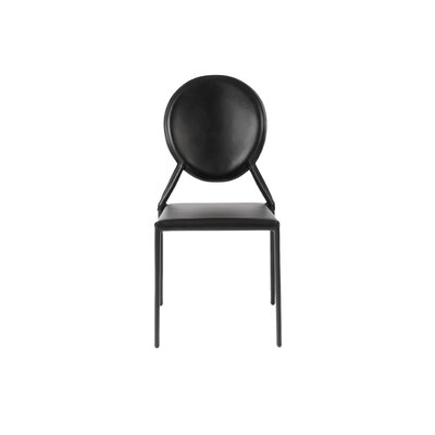 Elmhurst Side Chair Color: Black
