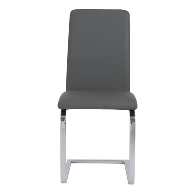 Cinzia Side Chair Upholstery: Gray