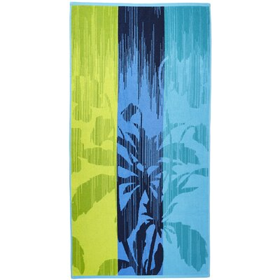 Tropical Terry Turkish Cotton Beach Towel