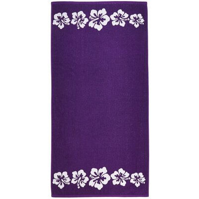 Hibiscus Terry Turkish Cotton Beach Towel