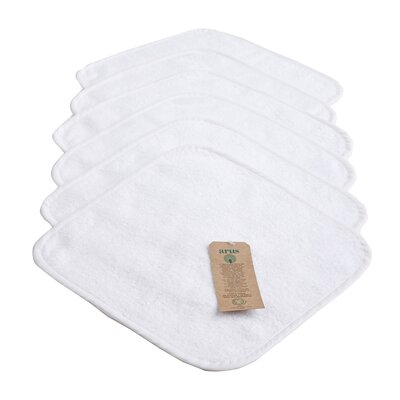 Baby Organic Turkish Cotton Towel Set Color: White