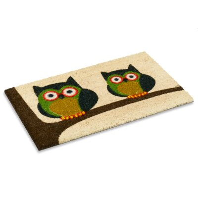 Twin Owl Doormat