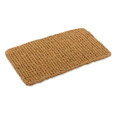 Cordie Basket Weave Doormat Mat Size: Rectangle 16 x 26