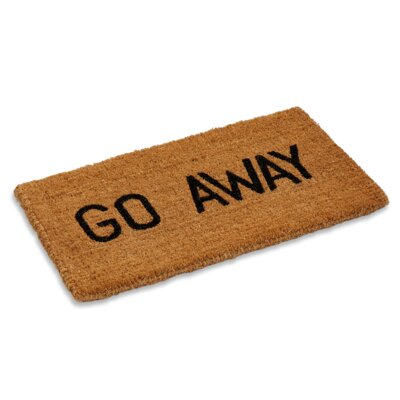 Aguirre Go Away Doormat