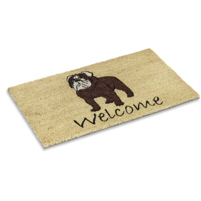 Ambudkar Bulldog Doormat