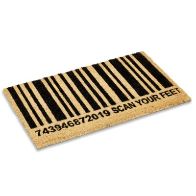 Scan Your Feet Doormat