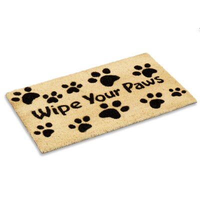 Millstadt Wipe Your Paws Doormat