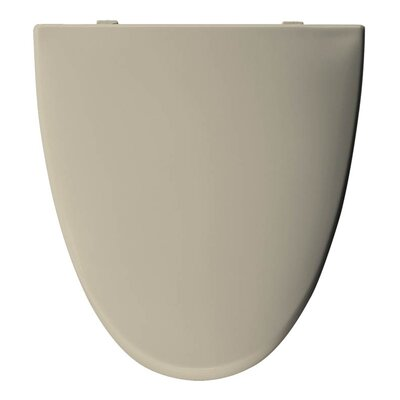 Church Elisse Plastic Elongated Toilet Seat Finish: Bone