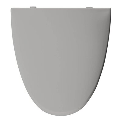 Church Elisse Plastic Elongated Toilet Seat Finish: Silver