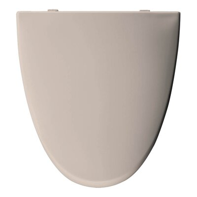 Church Elisse Plastic Elongated Toilet Seat Finish: Shell