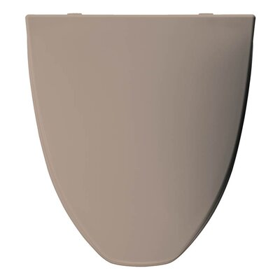 Church Plastic Elongated Toilet Seat Finish: Fawn Beige