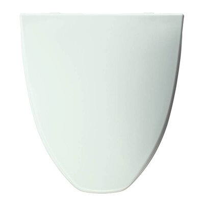 Church Plastic Elongated Toilet Seat Finish: White
