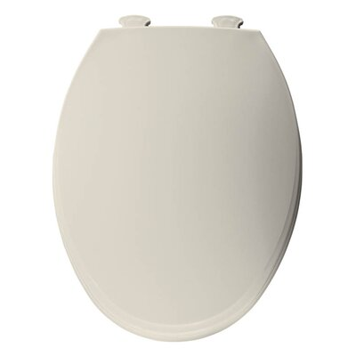 Church Lift Off Plastic Elongated Toilet Seat Finish: Biscuit