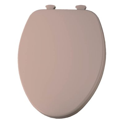 Church Lift Off Wood Elongated Toilet Seat Finish: Venetian Pink