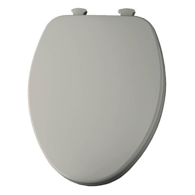 Church Lift Off Wood Elongated Toilet Seat Finish: Almond