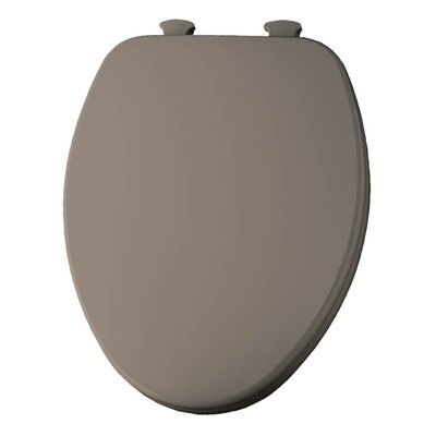 Church Lift Off Wood Elongated Toilet Seat Finish: Fawn Beige