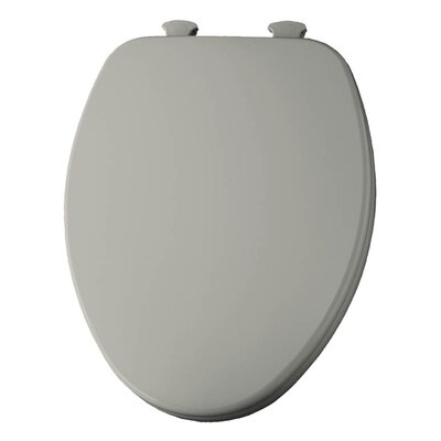 Church Lift Off Wood Elongated Toilet Seat Finish: Bone