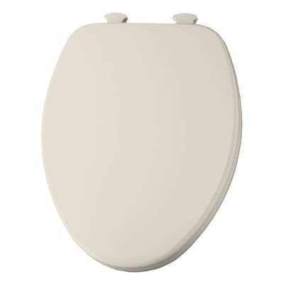 Church Lift Off Wood Elongated Toilet Seat Finish: Biscuit
