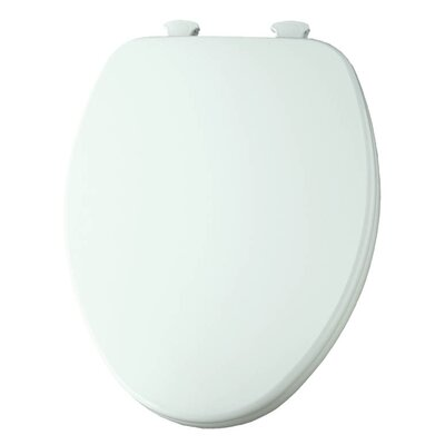 Church Lift Off Wood Elongated Toilet Seat Finish: Cotton White