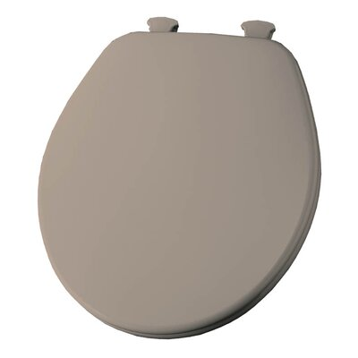 Church Lift Off Wood Round Toilet Seat Finish: Fawn Beige