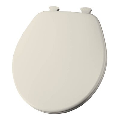 Church Lift Off Wood Round Toilet Seat Finish: Biscuit