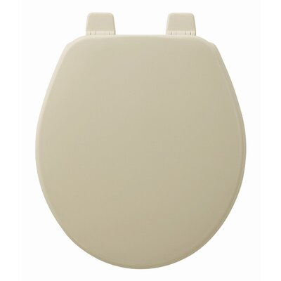 Church Wood Round Toilet Seat Finish: Bone