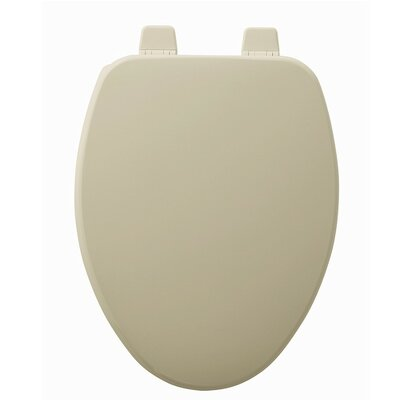 Church Wood Elongated Toilet Seat Finish: Bone