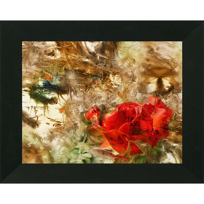 'Artistic Floral Abstract' Framed Print
