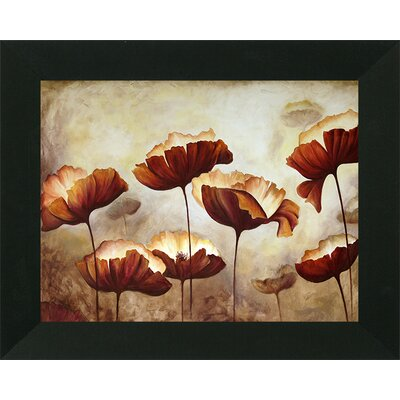 'Muted Study of Poppies' Framed Print RBRS2897 39496760