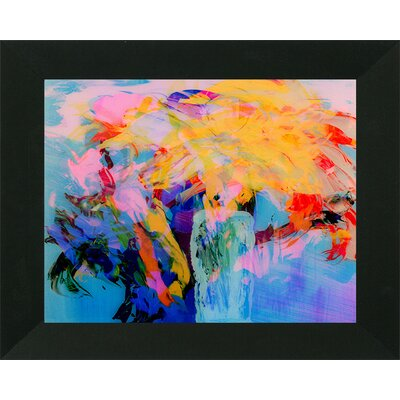 'Vibrant Floral Abstract' Framed Print IVYB3652 39497491