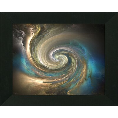 'Eye of Wave Abstract I' Framed Print
