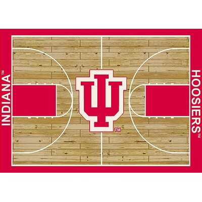 NCAA College Home Court Indiana Novelty Rug