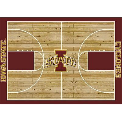 NCAA College Home Court Iowa State 310 x 54 Novelty Rug