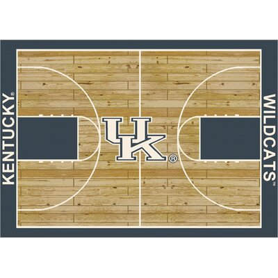 College Court Kentucky Wildcats Rug Rug Size: 109 x 132