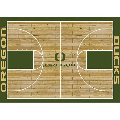 NCAA College Home Court Oregon 310 x 54 Novelty Rug