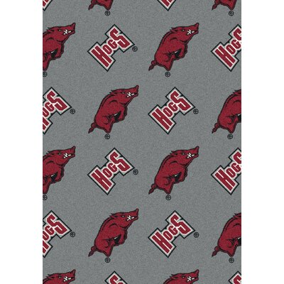 College Repeating NCAA Arkansas Novelty Rug
