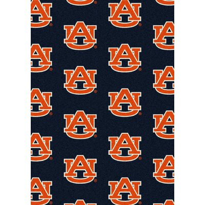 NCAA Team Repeating Novelty Rug NCAA Team: Auburn University
