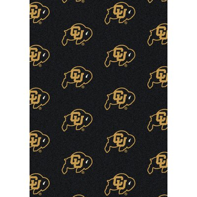 NCAA Team Repeating Novelty Rug NCAA Team: University of Colorado
