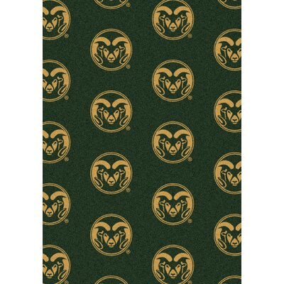 College Repeating NCAA Colorado State Novelty Rug