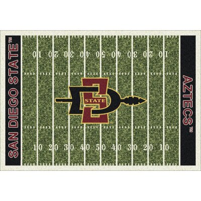 College Home Field NCAA San Diego State Novelty Rug Rug Size: 310 x 54