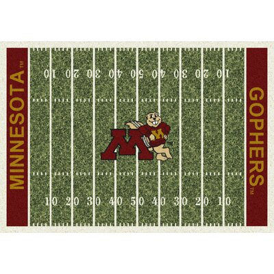 College Home Field NCAA Minnesota Novelty Rug Rug Size: 78 x 109