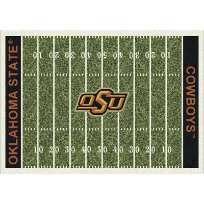 College Home Field NCAA Oklahoma State Novelty Rug Rug Size: 109 x 132