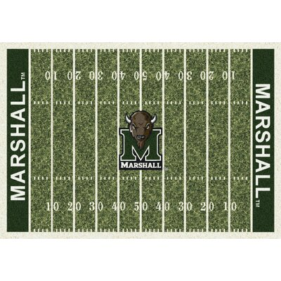 College Home Field NCAA Marshall Novelty Rug Rug Size: 310 x 54