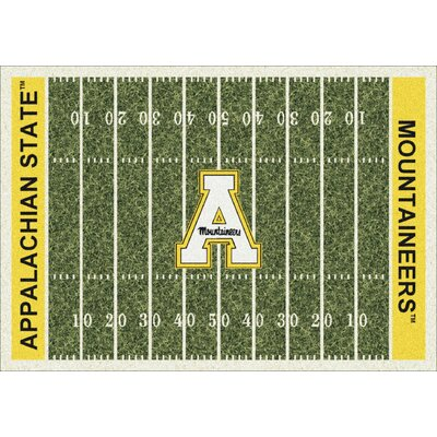 College Home Field NCAA Appalachian State Novelty Rug Rug Size: 109 x 132