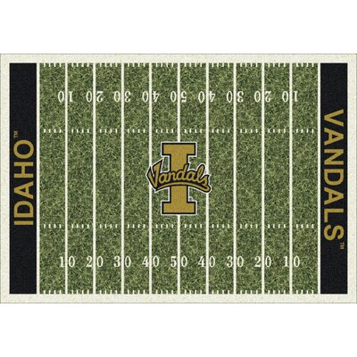 College Home Field NCAA Idaho Novelty Rug Rug Size: 109 x 132