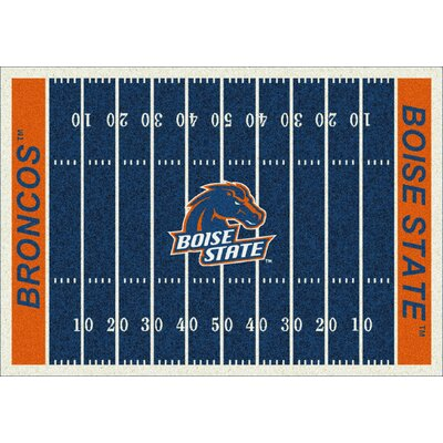 College Home Field NCAA Boise State Novelty Rug Rug Size: 78 x 109
