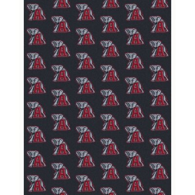 Collegiate II Alabama Tide Rug Size: 109 x 132